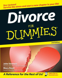 Mary Reed: Divorce for Dummies