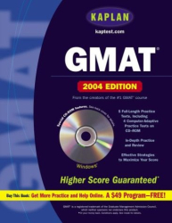 Kaplan: Kaplan GMAT 2004 with CD-ROM