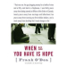 Frank O'Dea: When All You Have Is Hope By Frank O'Dea (Canadian Edition)