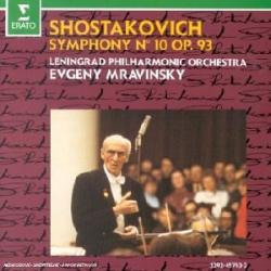 Chostakovitch - Symphonie n°10 (+ symphonie N°12): Evgeny Mravinsky - Orchestre Philharmonique de Leningrad