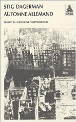 Stig Dagerman: Automne allemand
