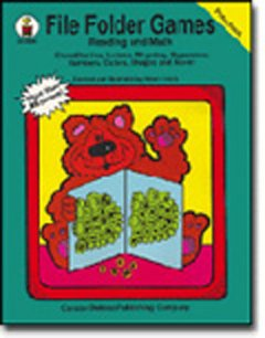 : FILE FOLDER GAMES READING GR. PREK AND MATH