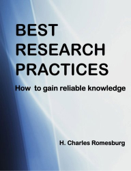 H Charles Romesburg: Best Research Practices
