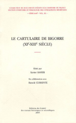 Xavier Ravier, Benoît Cursente: Le Cartulaire de Bigorre