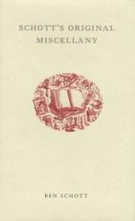 Ben Schott: Schott's Original Miscellany