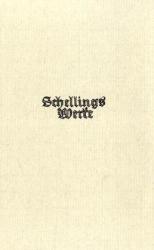 Friedrich W. J. Schelling: Werke, Die Weltalter