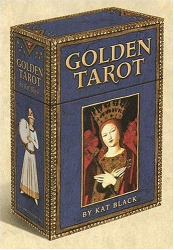 Kat Black: Golden Tarot Deck