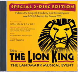 Lion King on Broadway - The Lion King (Original Broadway Cast Recording) (Special 2-Disc Edition)