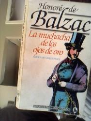 Honbore' de Balzac: La Muchacha De Los Ojos De Oro