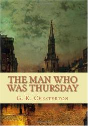 G. K. Chesterton: The Man Who Was Thursday