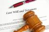 Wills law