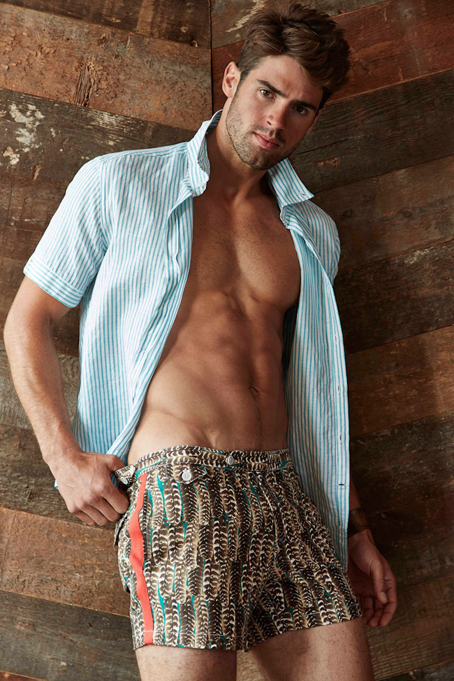Picture About Male Model Chad White Captured by Michael Bastian for Spring 2015