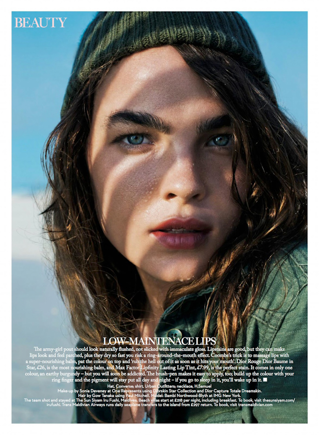 MARIE CLAIRE UK Bambi Northwood-Blyth in Super Trooper by Enrique Badulescu. Lisa Oxenham, September 2014, www.imageamplified.com, Image Amplified