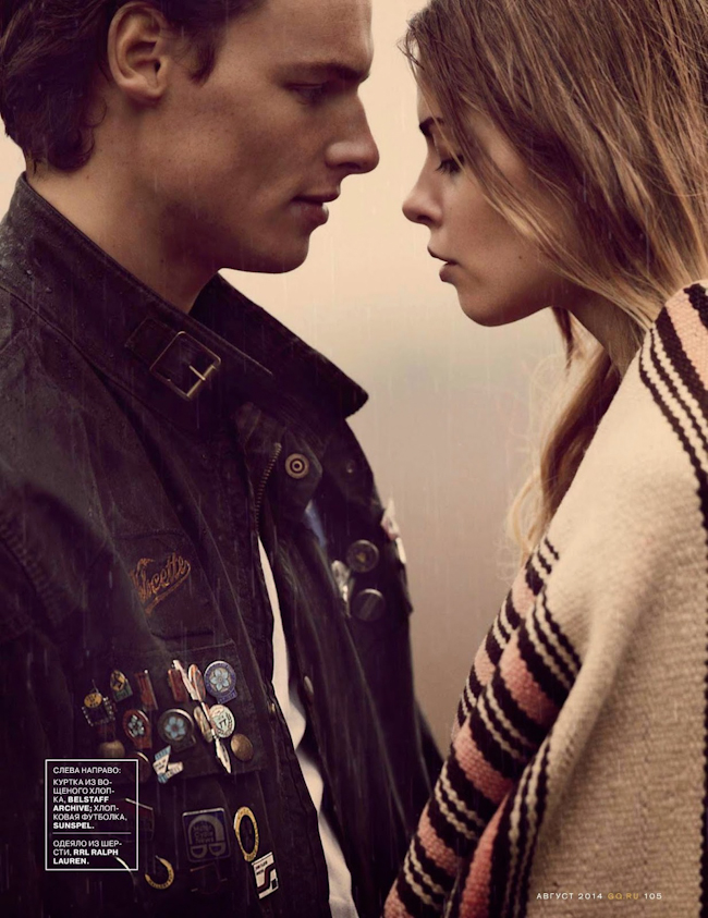 GQ RUSSIA Chris Pouter by Guy Aroch. Jo Levin, August 2014, www.imageamplified.com, Image Amplified