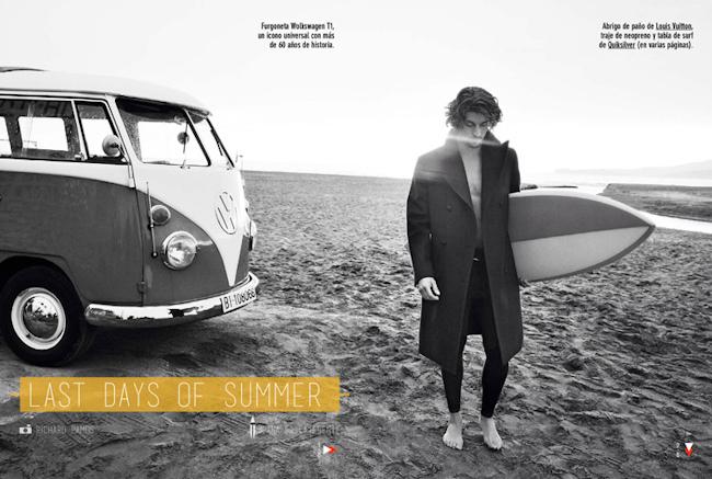 GQ  SPAIN Wouter Peelen in Las Days of Summer by Richard Ramos. Joana de la Fuente, September 2014, www.imageamplified.com, Image Amplified