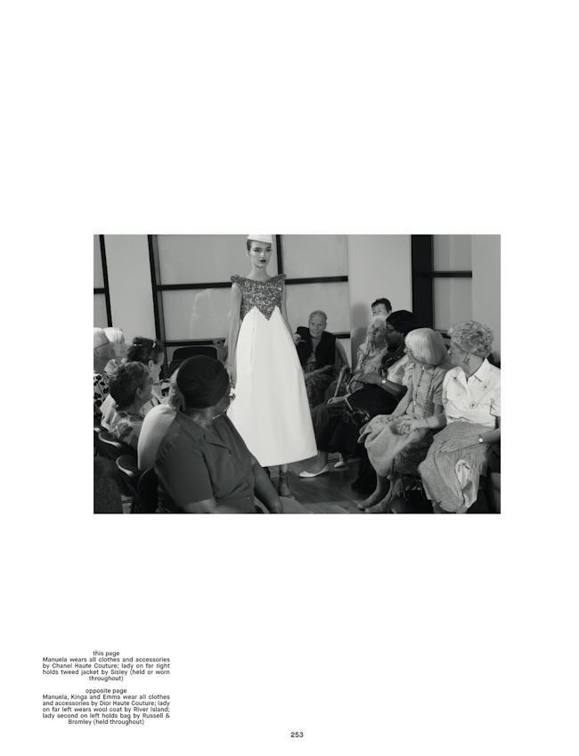 DAZED & CONFUSED MAGAZINE Emma Waldo, Kinga Rajzak & Mauela Frey in Ladies Night by Robi Rodriguez. Robbie Spencer, Fall 2014, www.imageamplified.com, Image Amplified