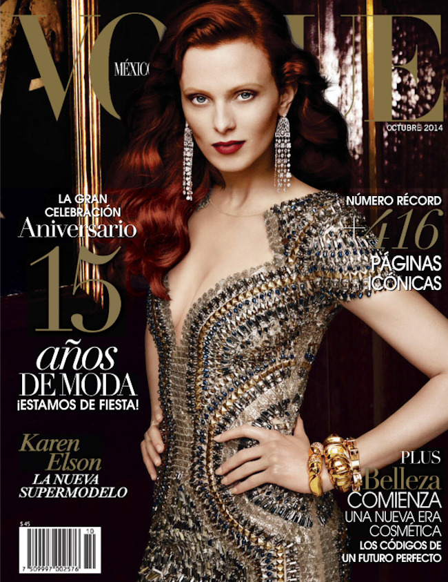 PREVIEW Vogue Mexico, October 2014 by Alexi Lubomirski. www.imageamplified.com, Image Amplified