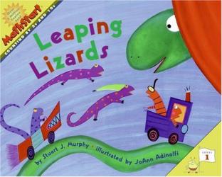 Stuart J. Murphy: Leaping Lizards (MathStart 1)