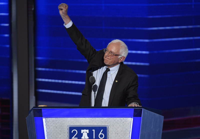 'The choice is not even close,' Sanders says of Clinton