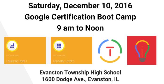 NICE Google Bootcamp