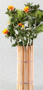 DIY chopstick vase