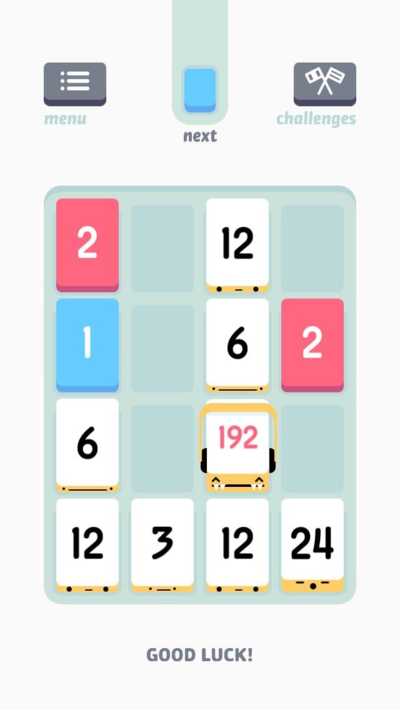 Threes-iphone-screenshot
