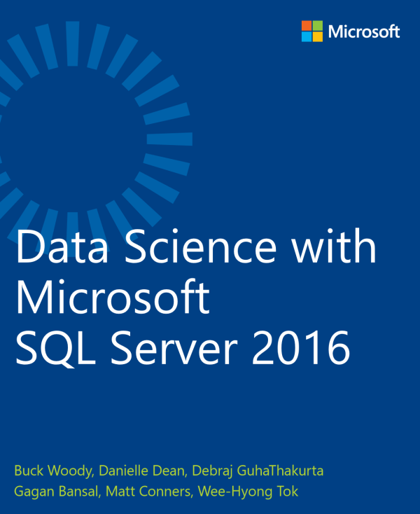 Free e-book: Data Science with SQL Server 2016