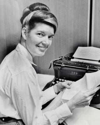 June Callwood. Date: 1966