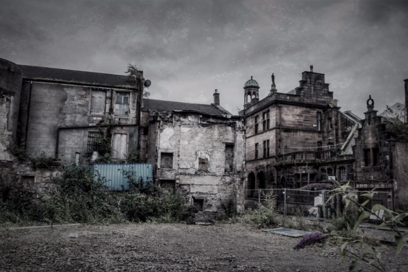QUESADA Glasgow ruins, by A Tangled Mind in Motion