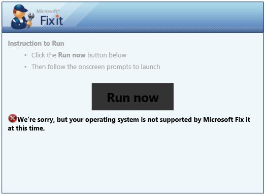 microsoft fix it download windows 8.1 64 bit