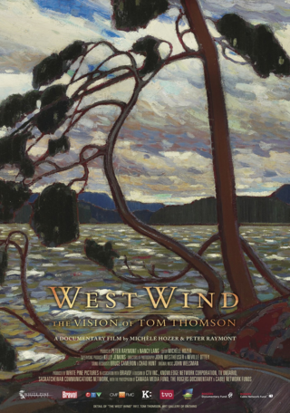 DVD West Wind the Vision of Tom Thomson g