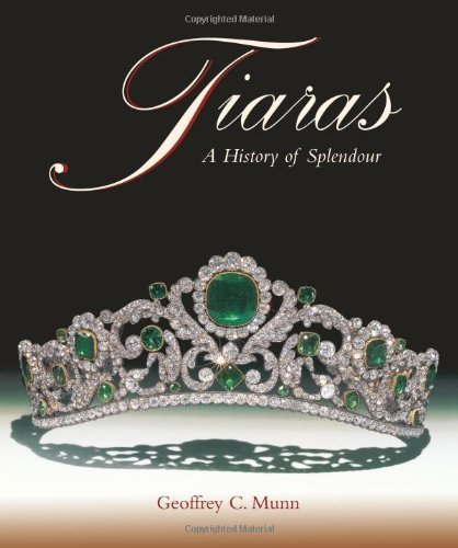 Tiaras - A History of Splendour by Geoffrey C. Munn. Tiaras have always inspired a great fascination and the most beautiful and influential women have been painted, photographed and admired whilst wearing them. Even in the twenty-first century they are still worn and continue to inspire special poise and elegance. This lavishly illustrated book includes new photographs of a variety of Royal tiaras together with those of French and Russian Imperial provenances. Geoffrey Munn has been granted special access to the photographic archives of many famous jewellers, including Cartier, Boucheron and Faberg, for his research. Other makers include Castellani, Fouquet, Garrards, Giuliano, Lalique, and Tiffany. Among the contemporary pieces illustrated are tiaras belonging to Jamie Lee Curtis, Vivienne Westwood, Elton John and Madonna, made by Slim Barratt, Galliano and Versace