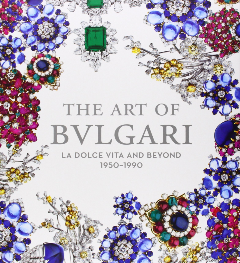"The art of Bulgari  la dolce vita and beyond, 1950-1990: ""This catalogue accompanies the exhibition of the same name at the de Young Museum, San Francisco, September 21, 2013-February 17, 2014. It covers four decades of creativity and artistic production by the jeweler Bulgari, based in Rome, focusing particularly on the postwar climate in Italy in which an ""Italian style"" of jewelry emerged"""
