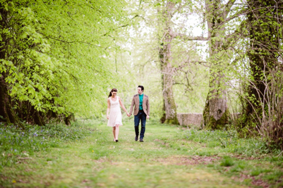 A Morris Minor and Lavendar Fields Engagement Shoot, Love My Dress Vintage and Alternative Wedding Blog