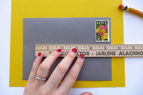 DIY Fancy Wedding Envelope Liner Tutorial by Berinmade for Love My Dress