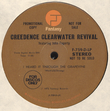 Credence Clearwater Revival - I Heard It Through The Grapevine (versión larga)