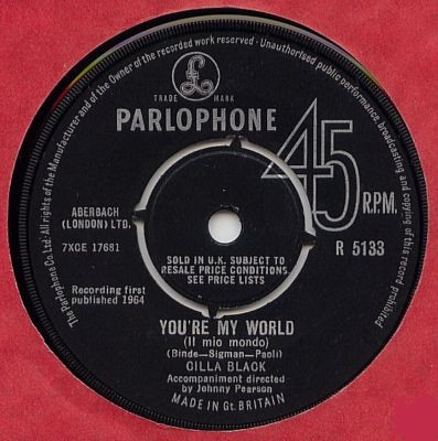 Cilla Black - You're my world