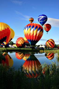 Stoweflake hot air balloon