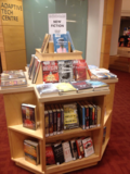 Browsery new fiction display