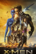 X-Men Days of Future Past movie poster