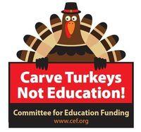 Carve turkey not edu