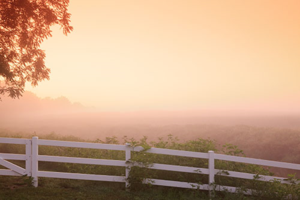 Sunrise at the Hideaway Country Inn - photo: Hideaway Country Inn