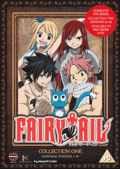 Fairy Tail Anime DVD Cover Image
