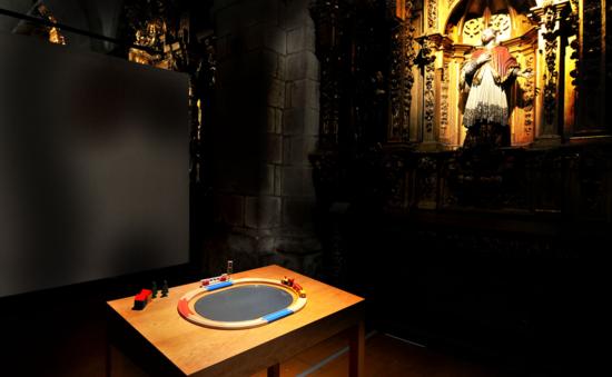 Procesalia 2013 en la Igrexa da Compañía. Santiago de Compostela. Foto Santi Alvite