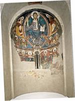 Apse from Sant Climent de Taüll  (Alrededor de 1123) por Unknown Museu Nacional d'Art de Catalunya - MNAC, Barcelona
