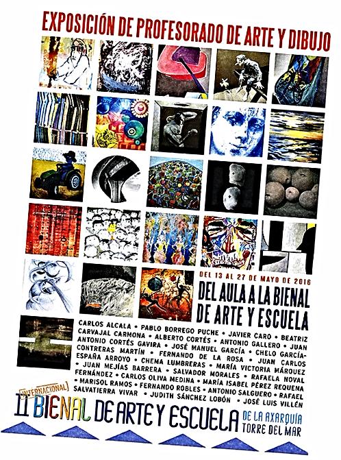 Cartel de exposiciones paralelas