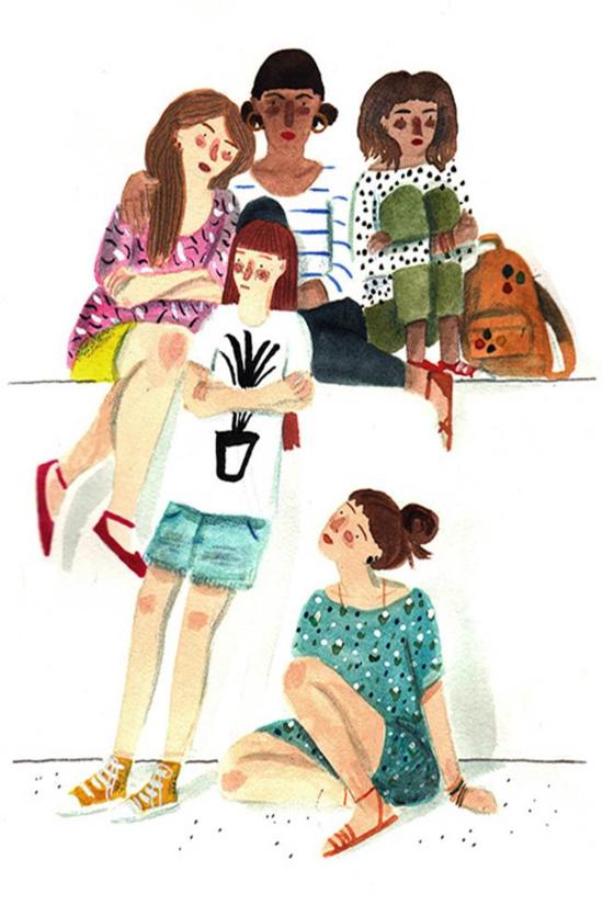 Lizzy Stewart, Girl Gang