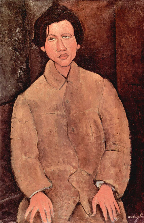 Amedeo Modigliani, Retrato de Soutine. 1916