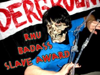 Badass slave award