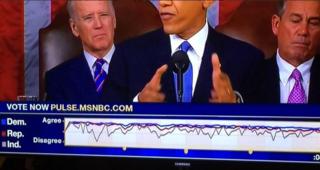 MSNBC SOTU dial results